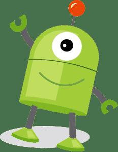 UXkids mascot standing
